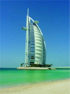 Placa Decorativa em MDF - Burj Al Arab Dubai