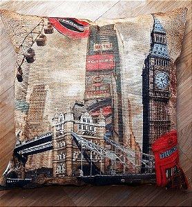 Capa de almofada Linho - Londres
