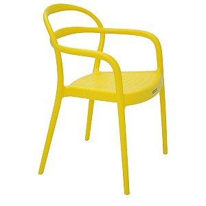Cadeira Sissi Amarelo Tramontina 92045000