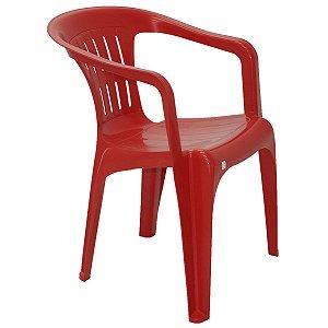 Cadeira Atalaia Basic Vermelho Tramontina 92210040