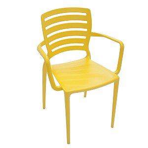 Cadeira Sofia Amarelo Tramontina 92036000