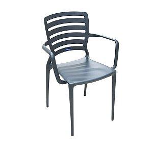 Cadeira Tramontina Grafite 92036007