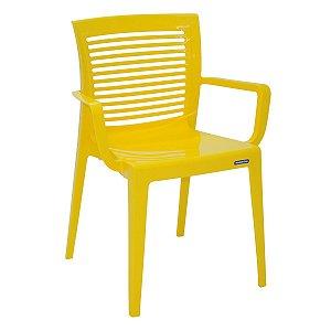 Cadeira Victória Amarelo Tramontina 92042000