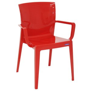 Cadeira Victória Vermelho Tramontina 92044040