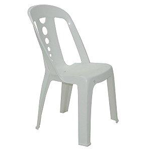 Cadeira de Plástico Jatiuca Branca Tramontina 92021010