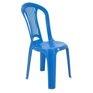 Cadeira de Plástico Atlântida Economy Azul Tramontina 92013070