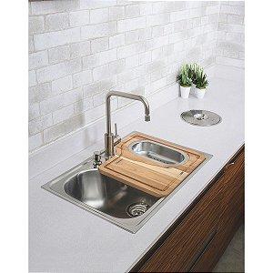 Lixeira de Embutir para Granito Clean 5L Tramontina 94518005