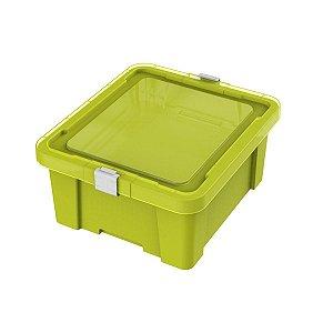 Caixa Organizadora 17L Kids Verde Tramontina 92550020