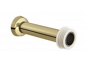 Tubo de Ligação 30cm DocolChroma Ouro escovadoovado 00626672 Docol