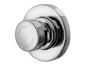 Válvula Para Chuveiro Água Fria Ou Pré-Misturada Baixa Pressão Pressmatic 17120306 Docol