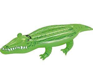 Boia Inflável Para Piscina Crocodilo - Jacaré Mor