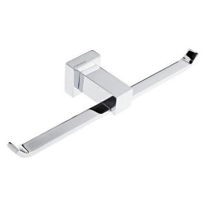 Porta Papel Higiênico Metal Dupla Flat Fabrimar