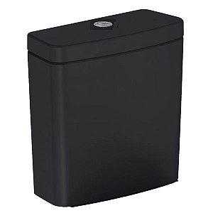 Caixa Acoplada Ecoflush para Boss Preta 3/6L Incepa