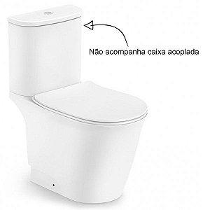 Vaso Sanitário para Caixa Acoplada Saída Vertical Neo Rimless Branco Incepa