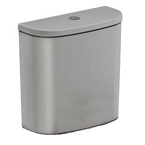 Caixa Acoplada Ecoflush para Neo Cinza 3/6L Incepa