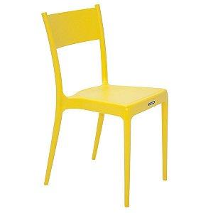 Cadeira Diana Amarelo Tramontina 92030000
