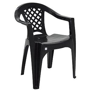 Cadeira Iguape Basic Preta Tramontina 92221009