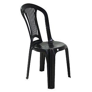 Cadeira de Plástico Atlântida Economy Preta Tramontina 92013009