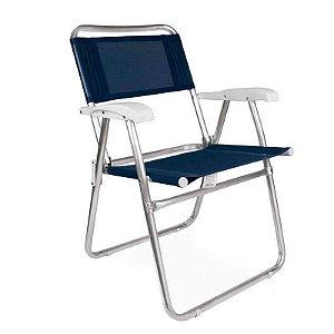 Cadeira Master Alumínio Fashion - Coral