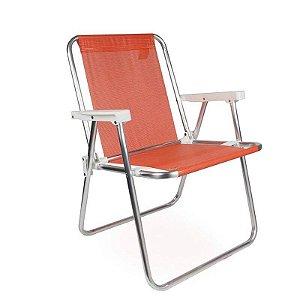 Cadeira Alta Alumínio Coral