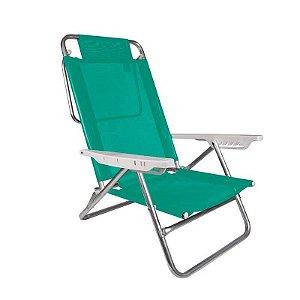 Cadeira de Praia Alumínio Sol de Verão Roxa 72,5x57cm
