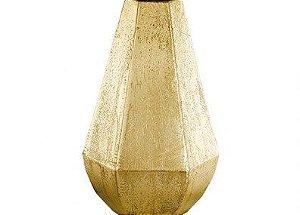 Vaso Em Metal Dourado - 30,5Cm Mart 5550