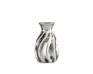 Vaso Prata Em Ceramica Mart 7013