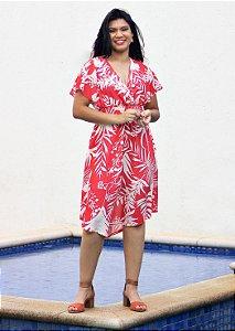 Vestido Midi Assimétrico