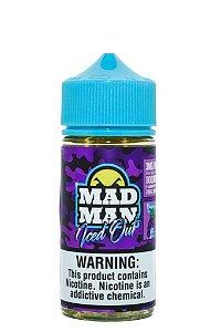 Líq Crazy Grape Iced 100ML - MADMAN