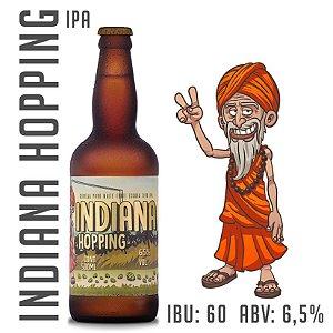 Cerveja Indiana Hopping - IPA - Garrafa 500 ML