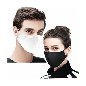Kit 1000 Máscaras de Algodão Lavável e Reutilizáveis Proteção Contra Vírus