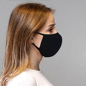 Kit 100 Máscaras de Algodão Lavável e Reutilizáveis Proteção Contra Vírus