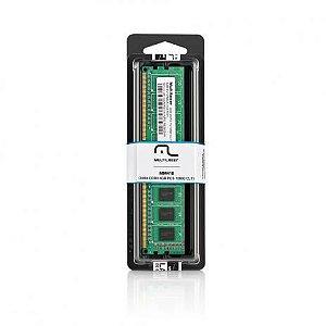 Memória Multilaser Ddr3 Udimm 4Gb 1600 Mhz - MM410