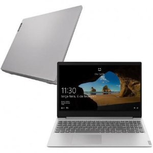 """Notebook Lenovo IdeaPad S145-15IGM, Intel Celeron, Dual Core, 4GB, 500GB, Tela 15"""", Windows 10 e Prata"""