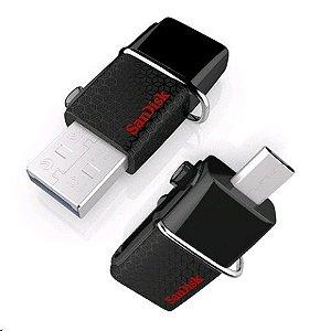 Pen Drive 16gb Dual Usb 3.0 E Micro