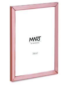 PORTA-RETRATO ROSE GOLD EM METAL - 15 x20