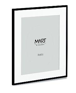 PORTA-RETRATO PRETO EM METAL - 10 x15