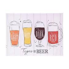 QUADRO TYPES OF BEER