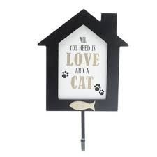 """GANCHO """"ALL YOU NEED IS LOVE AND A CAT"""""""