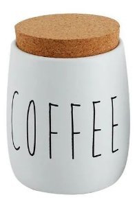 PORTA-CONDIMENTOS COFFEE BRANCO FOSCO