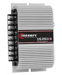 Amplificador Taramps DS 280x4 280wrms 4 Canais 2ohms