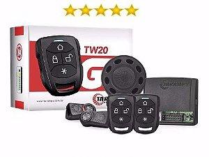 Alarme Automotivo Taramps - TW20P com função bloqueio por controle de presença