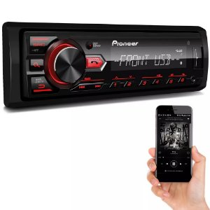 MP3 Player Pioneer MVH-298BT USB com Bluetooth