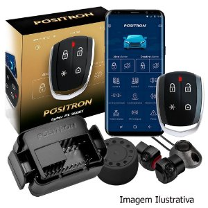 Alarme para Carro Pósitron PX 360bt com Função Presença e Bluetooth