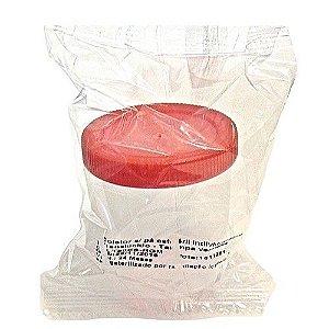 Coletor universal estéril de 80ml para preparação de seringas com esporos - 1 unidade