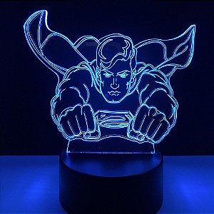 Luminária Led  Superman 03 Cores