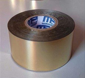 Fita Hot Stamping Dourada 30mm X 122 Metros