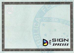 Papel Moeda A4  Certificado  ( Modelo 01 ) _25Unid