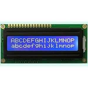 Display LCD 16x2 (fundo azul) para arduino