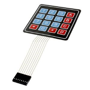 Teclado Membrana 4x4  (Matricial) 16 Teclas Keypad  para Arduino